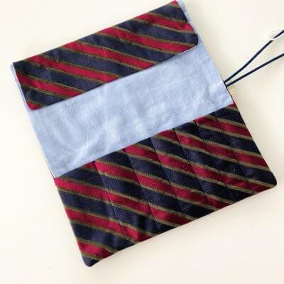 Etui aus Krawatten