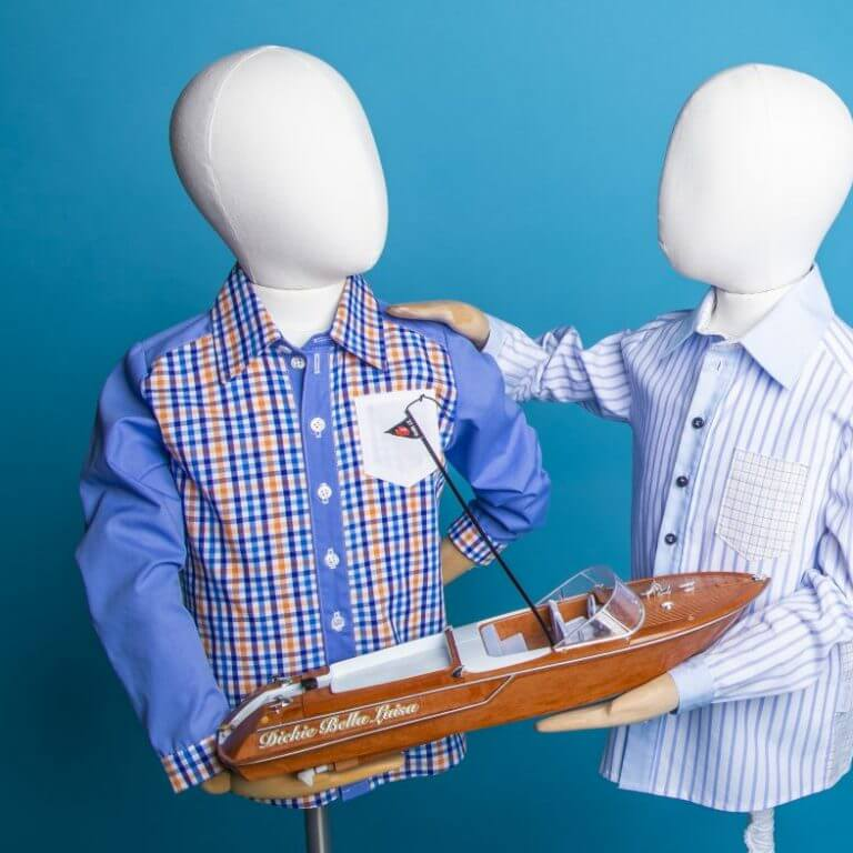 Kinderhemd mit Boot