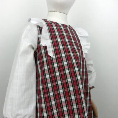 Kleid mit Arm