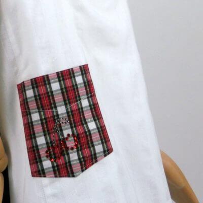 aufgesetzte Taschen