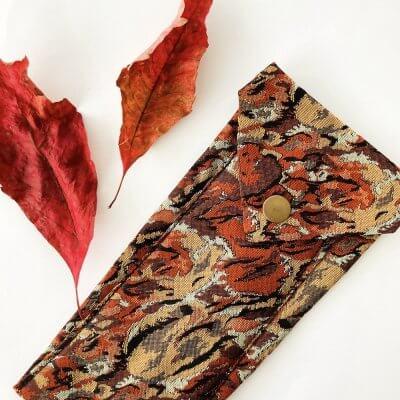 Etui Herbstfarben