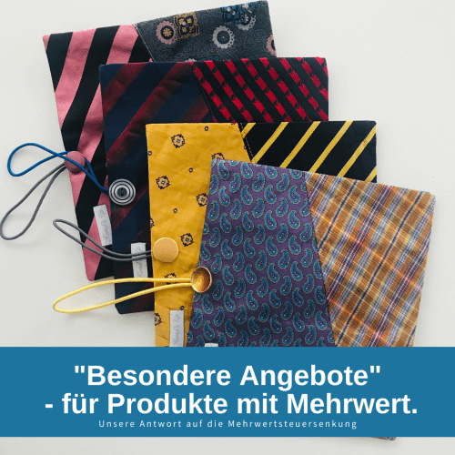 Angbeote, etuis, Upcycling krawatte