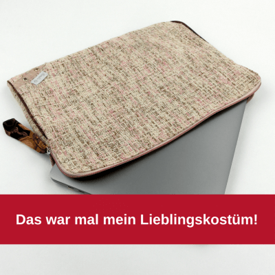 Laptophülle Upcycling