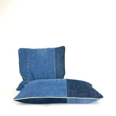 Kissen Jeans