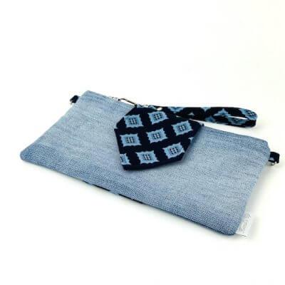 clutch bag Krawatte