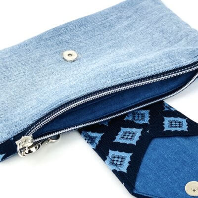 Upcycling Clutch