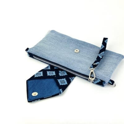 Clutch Jeans Upcycling