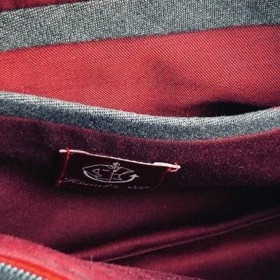 Clutch Jeans Innentasche