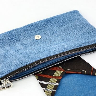 Handtasche Upcycling Innentasche