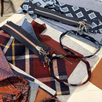 UUpcycling Tasche Krawatte