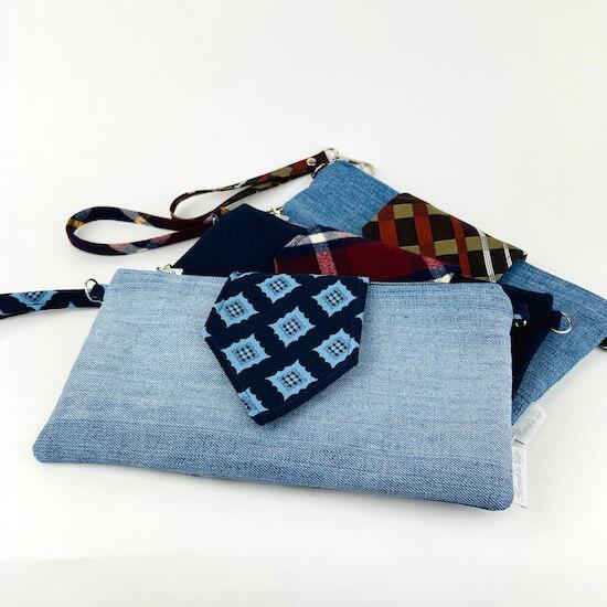 Clutch Bag Jeans