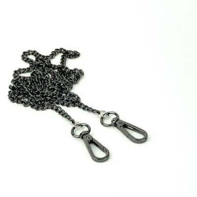 Taschenkette schwarz