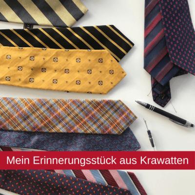 aus Krawatten