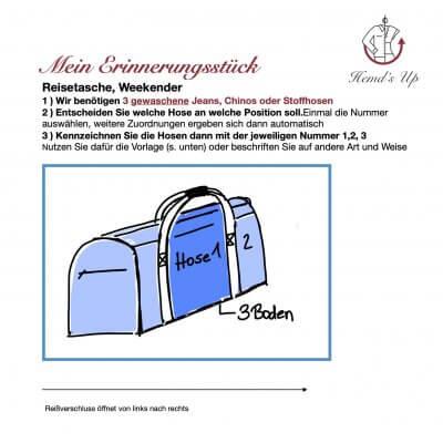 Kundeninfo Reisetasche
