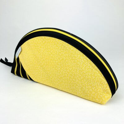 Etui Handmade gelb