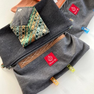 Upcycling Tasche Krawatte